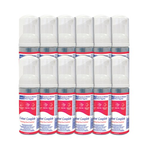 Deb Cutan Foam Sanitiser 47ml (Pack Of 12) CFS47Ml