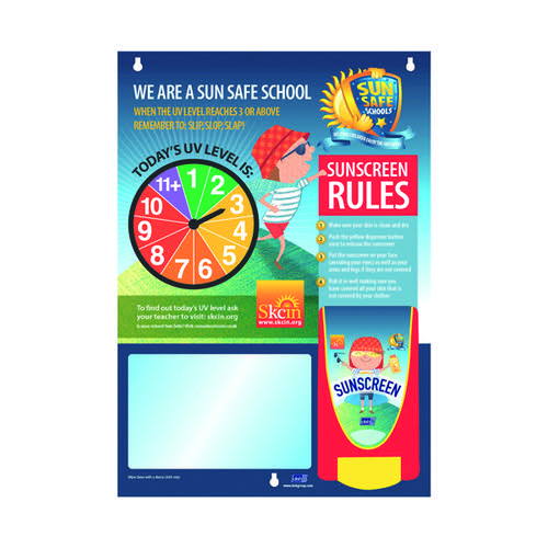 Deb Stokoderm Children UV Skin Safety Centre SKSUNBOARD