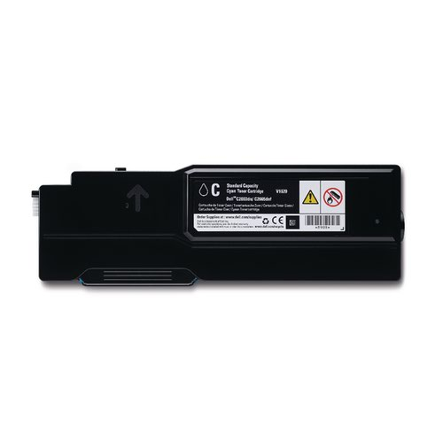 Dell Cyan Toner Cartridge (1,200 Page Capacity) 593-BBBN