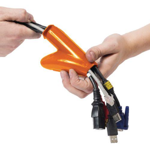 D-Line 2.5m Cable Zipper 20mm Diameter Black CZ202.5B