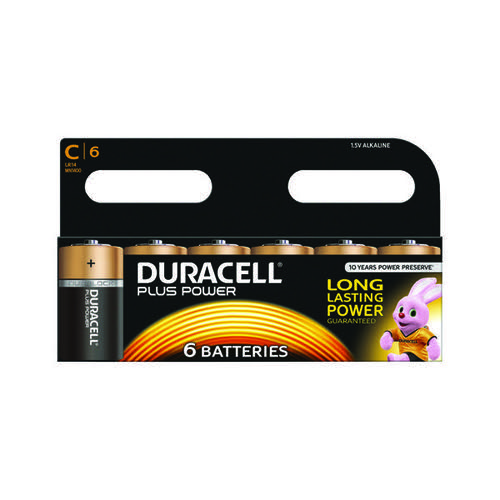Duracell Plus C Battery (Pack of 6) 81275434