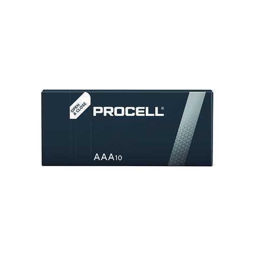 Duracell Procell AAA Batteries (Pack of 10) 5007617