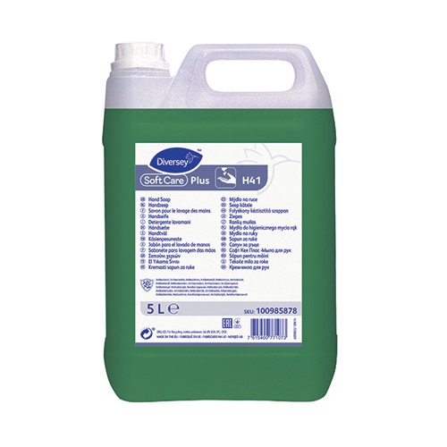 Diversey Soft Care Plus H400 5 Litres (Pack of 2) 7515116