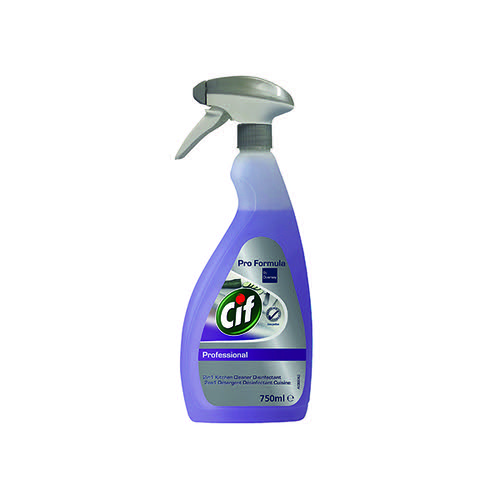 Cif Professional 2-in-1 Disinfectant 750ml