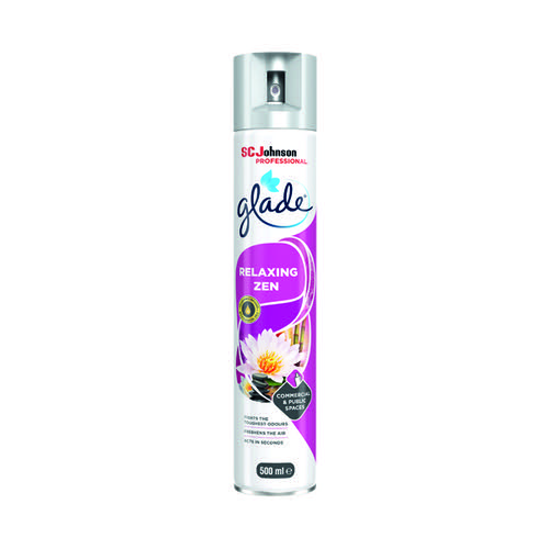 Glade Relaxing Zen Air Freshener 500ml 314223