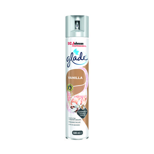 Glade Vanilla Air Freshener 500ml 314224