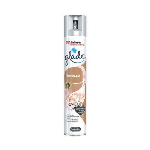 Glade Vanilla Air Freshener 500ml 314224 Air Fresheners DV12928
