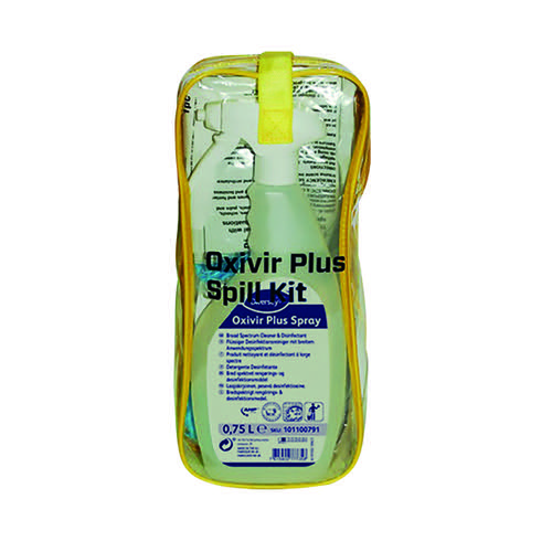 Diversey Oxivir Plus Body Spillage Kit (Includes gloves mask scraper bio-hazard bag) 100840608
