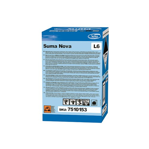 Diversey Suma Nova L6 Detergent 10 Litre (Helps prevent build-up of limescale) 7510153