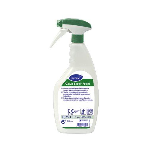 Oxivir Excel Foam Disinfectant 750ml (Pack of 6) 100941562