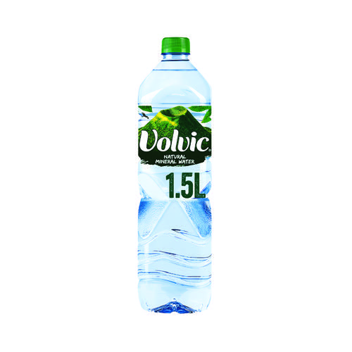 Volvic Mineral Water 1.5 Litre (Pack of 12) 8873