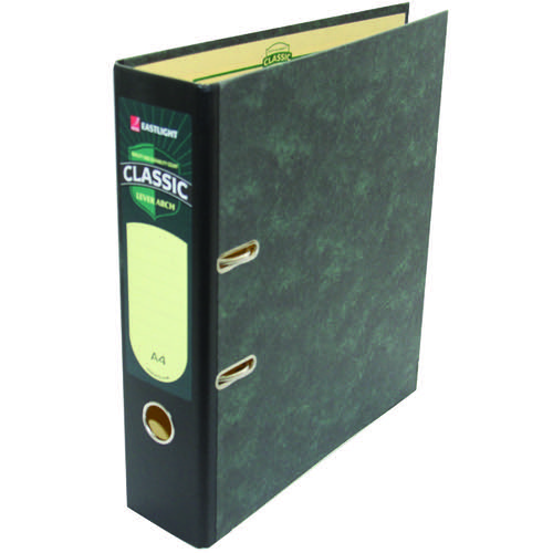 Rexel Classic A4 File Black (Pack of 10) 26145EAST