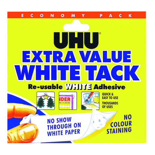 UHU White Tack 100g (Pack of 6) 43527