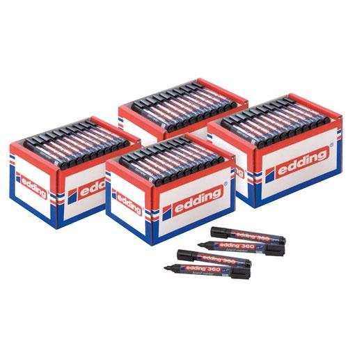 Edding 360 Boardmarker Class Pack Black (Pack of 50) 5 for 4 ED810669