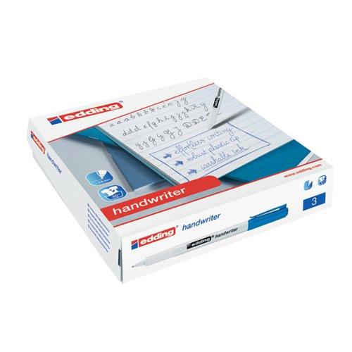 Edding Handwriter Pen Blue (Pack of 200) 300463000