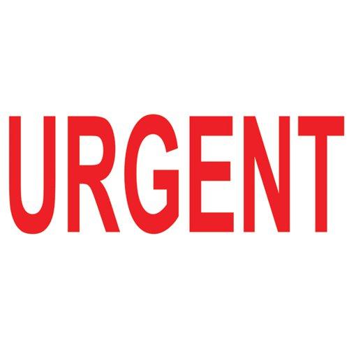 COLOP Green Line Word Stamp URGENT Red (Impression size: 38 x 14mm) C144837URG
