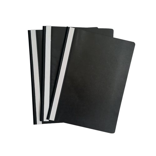 Graffico Project Folder A4 Black (Pack of 100) EN06041