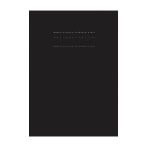 Nu Education Sketchbook A4 Black (Pack of 50) NU602007