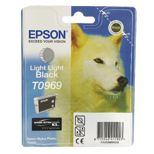 Epson T0969 Light Light Black Ink Cartridge C13T09694010 / T0969