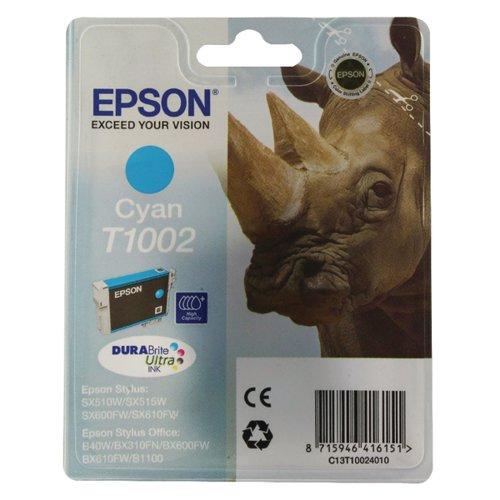 Epson T1002 Cyan Ink Cartridge C13T10024010
