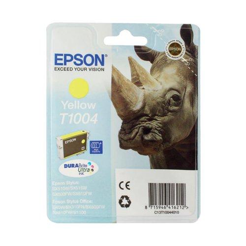 Epson T1004 Yellow Ink Cartridge C13T10044010 / T1004