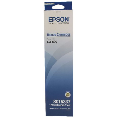 Epson Fabric Ribbon Cartridge LQ-590 Black C13S015337