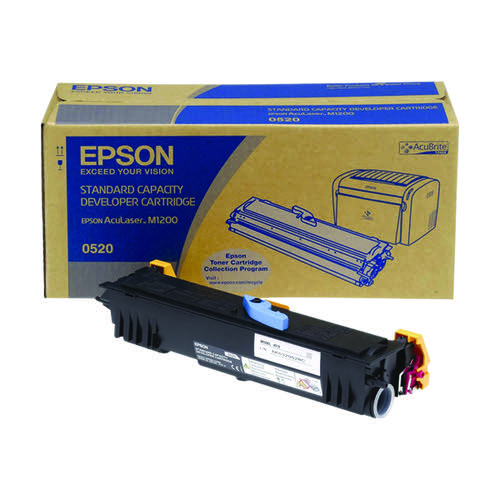 Epson AcuLaser M1200 Standard Yield Toner Cartridge 1.8K Black C13S050520