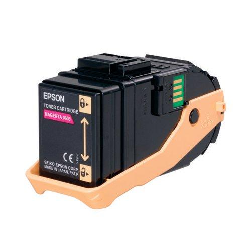 Epson S050603 Magenta Toner Cartridge (Capacity: 7500 pages) C13S050603