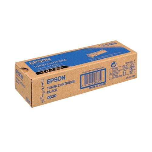 Epson S050630 Black Toner Cartridge C13S050630 / S050630