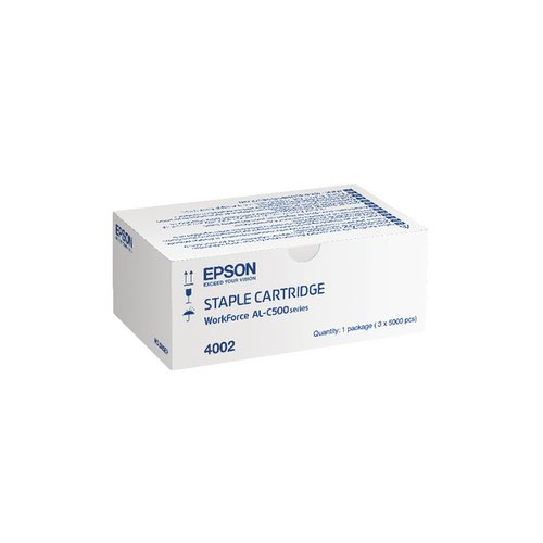 Epson S904002 Staple Cartridge (Pack of 3) C13S904002