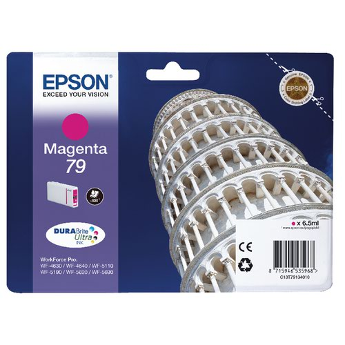 Epson 79 Magenta Inkjet Cartridge C13T79134010 / T7913