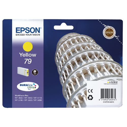 Epson 79 Yellow Inkjet Cartridge C13T79144010 / T7914