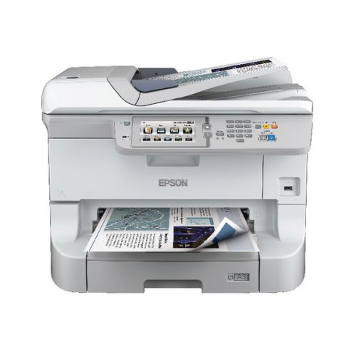 Epson Black WorkForce Pro WF-8510DWF A3+ Multifunctional Inkjet Printer C11CD44301BY