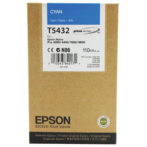 Epson Stylus Photo 7600 Inkjet Cyan Cartridge C13T543200