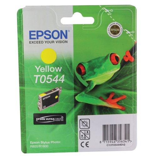 Epson T0544 Yellow Inkjet Cartridge C13T05444010