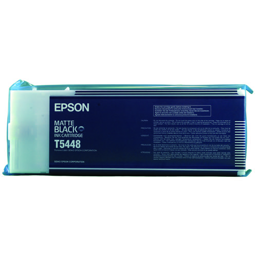 Epson Stylus Pro 9600 Matt Black Inkjet Cartridge C13T544800