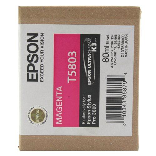 Epson T5803 Magenta Ink Cartridge C13T580300 / T580300