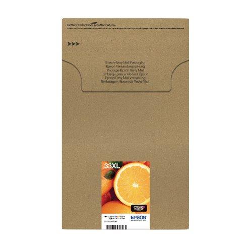 Epson 33XL Claria Premium Ink Cartridge Multipack 5-Colours Easymail (Pack of 5) C13T33574510