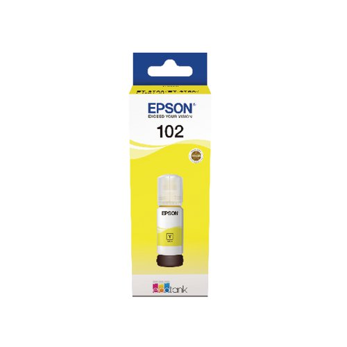 Epson 102 EcoTank Yellow Ink Bottle C13T03R440