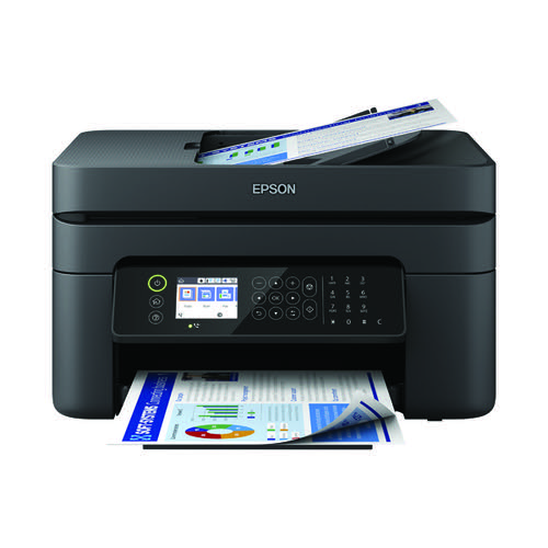 Epson Workforce WF-2850DWF Inkjet Printer C11CG31401