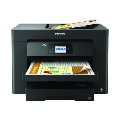 Epson Workforce WF-7830DTWF Inkjet Printer C11CH68401