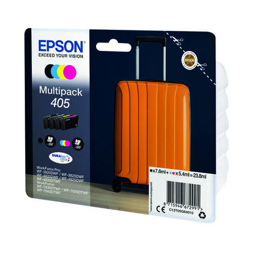 Epson 405 Ink Cartridge 4 Colours C13T05G64010