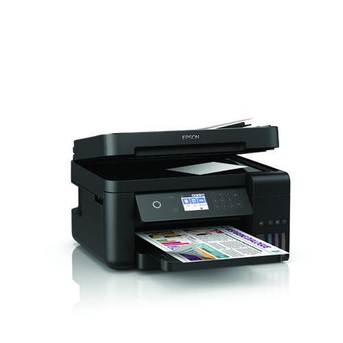 Epson EcoTank ET3750B Inkjet Printer C11CG20401A2
