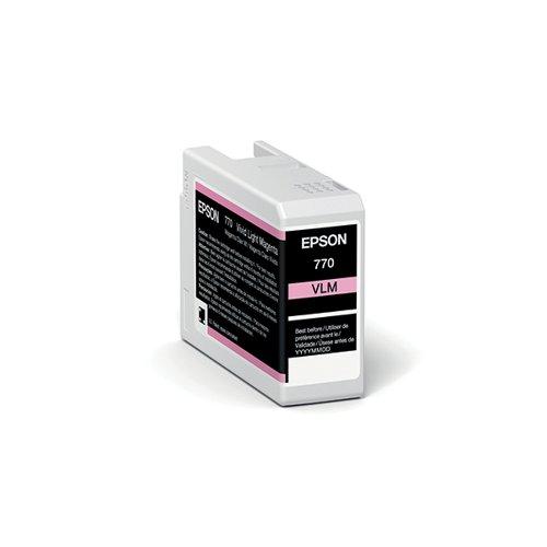 Epson T46S6 Vivid Light Magenta UltraChrome Pro 10 Ink 25ml C13T46S600