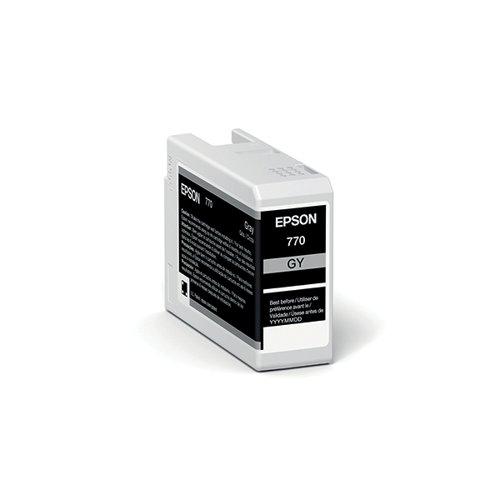 Epson T46S7 Grey UltraChrome Pro 10 Ink 25ml C13T46S700