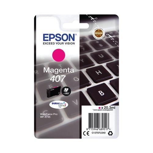 Epson WF-4745 Series Ink Cartridge L Magenta C13T07U340