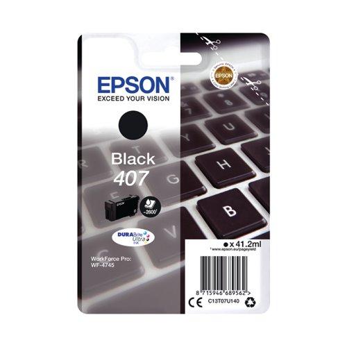 Epson WF-4745 Series Ink Cartridge Black C13T07U140