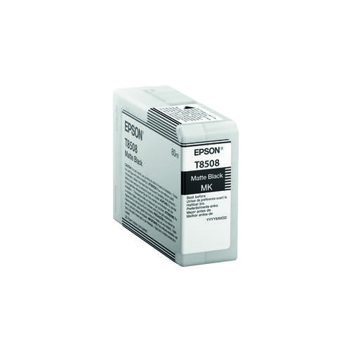 Epson Matte Black Ink Cartridge C13T850800