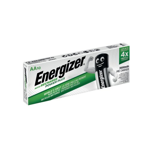 Energizer Rechargable AA Batteries 2000mAh (Pack of 10) 634354