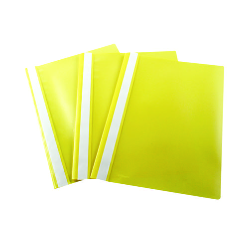Esselte VIVIDA Polypropylene Report Files A4 Yellow (Pack of 25) 28318